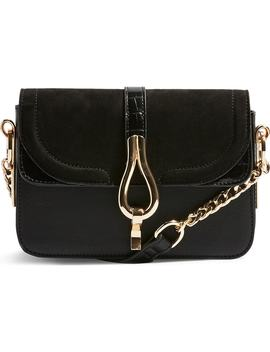 Capricorn Faux Leather Crossbody Handbag by Topshop
