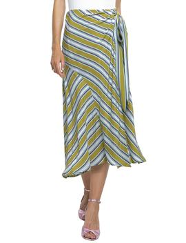 Stripe Midi Skirt by Astr The Label