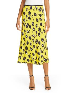 Mae Floral Midi Skirt by Dvf