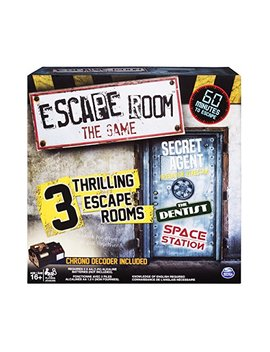 Spin Master Games   Escape Room, The Game With 3 Escape Rooms, Ages 16 And Up by Spin Master Games