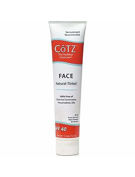 Cotz Face Sunscreen Natural Skin Tone Spf 40 1.5 Oz (Pack Of 2) by Co Tz