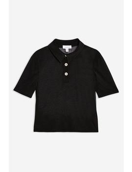 Sheer Polo by Topshop