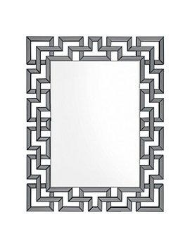 Santorini Mirror   Graphite by Z Gallerie