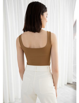 Square Cut Tank Top by & Other Stories
