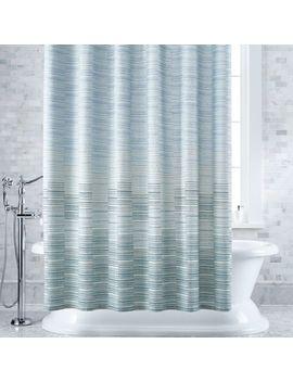 Oseas Stripe Shower Curtain by Crate&Barrel
