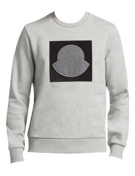 Maglia Girocollo Graphic Logo Sweatshirt by Moncler