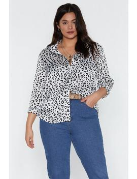 Tail You What Leopard Shirt by Nasty Gal