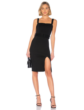 Cara Belted Midi Dress by About Us