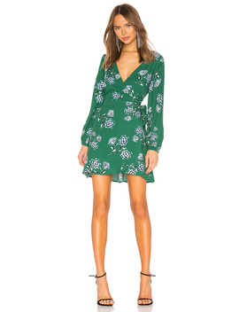 Mystique Wrap Dress by Cupcakes And Cashmere