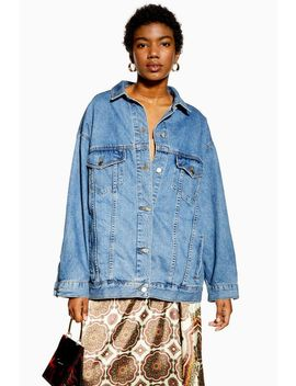 Dad Oversized Denim Jacket by Topshop