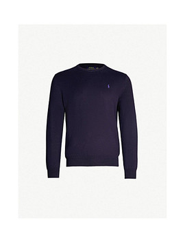 Crewneck Cotton Jumper by Polo Ralph Lauren