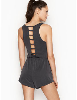 Strappy Back Romper by Victoria's Secret