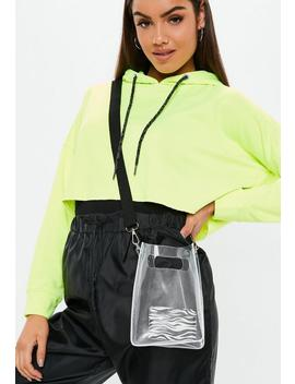 Clear Cross Body Utility Bag by Missguided