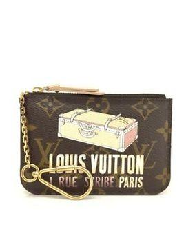 Louis Vuitton Monogram Trunk Pochette Cles Nm Wallet Coin Purse /E238 by Ebay Seller