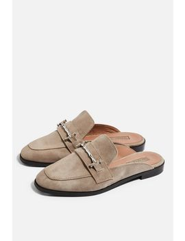 Kyra Backless Loafers by Topshop