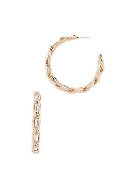 Slim Hoop Earrings by Rosantica