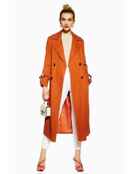 Belted Trench Coat by Topshop