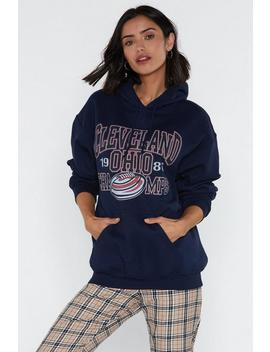 Cleveland Graphic Hoodie by Nasty Gal