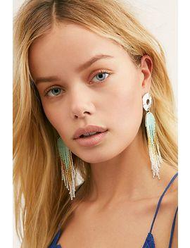 Ombre Fringe Earrings by Free People