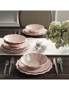 Robstown Pearl Blush 12 Piece Melamine Dinnerware Set, Service For 4 by Greyleigh