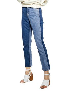 Straight Leg Moto Jeans by Topshop