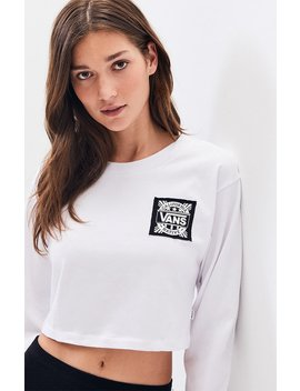 Vans White Cali Native Long Sleeve T Shirt by Pacsun
