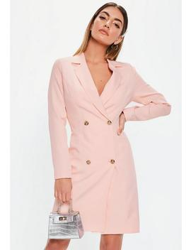 Tall Pink Tailored Blazer Dress by Missguided