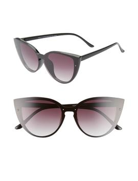 Flat Front Cat Eye Sunglasses by Bp.