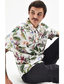 Pac Sun North Short Short Sleeve Button Up Shirt by Pacsun