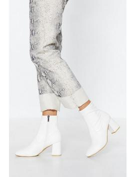 Sock Me Good Ankle Boots by Nasty Gal