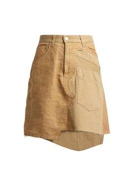 Deconstructed Chino Cotton Gabardine Skirt by Loewe