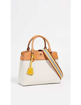 Robinson Canvas Triple Compartment Tote by Tory Burch