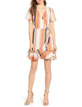 Isabella Wrap Dress by All In Favor