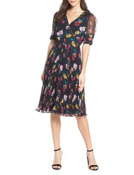 Floral Angels Flight Midi Dress by Ali & Jay