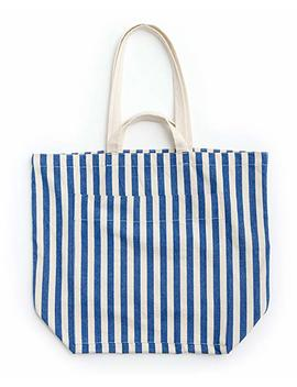 Baggu Giant Pocket Tote, Oversized Stylish Canvas Bag For Easy Carrying by Baggu