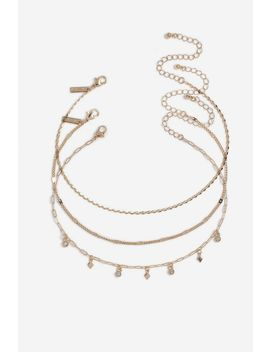 **Chain Chokers 3 Pack by Topshop