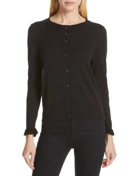Ruffle Cardigan by Kate Spade New York