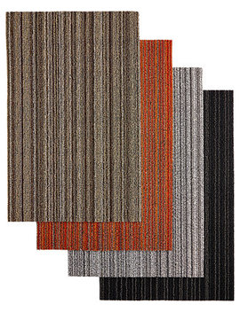 "Skinny Stripe Big Floor Mat, 36"" X 60"" by Chilewich"