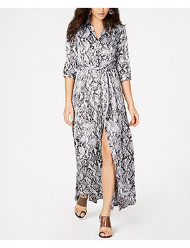 I.N.C. Full Sweep Shirtdress, Created For Macy's by Inc International Concepts
