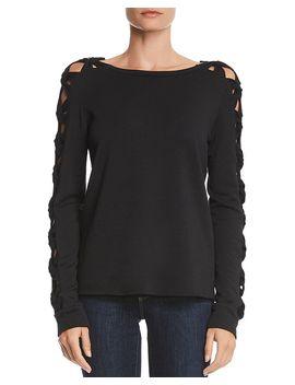 Knot Detail Fleece Sweatshirt by Bailey 44