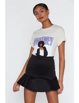 Going Through A Ruffle Time Mini Skirt by Nasty Gal