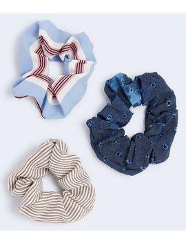 Striped Scrunchie 3 Pack by Aeropostale