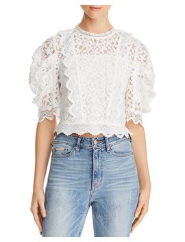 Felicity Lace Top by Milly