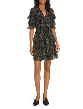 Cheetah Print Silk Blend Dress by Rebecca Taylor