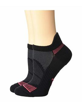 Superlite Prime Mesh Iii Tabbed No Show Socks 2 Pack by Adidas