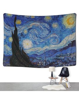 Bleum Cade Tapestry Wall Hanging Wall Tapestry Hippie Galaxy Tapestry Starry Night Tapestry Mandala Bohemian Tapestry Living Room Bedroom Space Decor by Bleum Cade