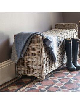 Orava Wicker Storage Bench by Gracie Oaks