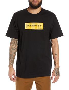 Fraser Logo Graphic T Shirt by Carhartt Work In Progress