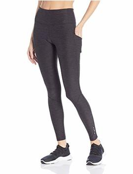 """Core 10 Women's Cozy High Waist Full Length Legging With Pockets   28"""" (Xs Xl, Plus Size 1 X 3 X) by Core 10"""