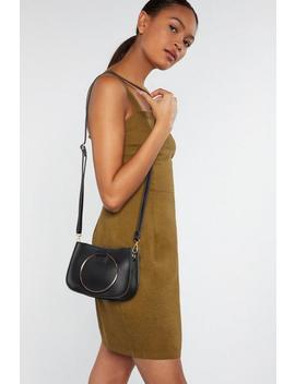 Want Handle Your Business Crossbody Saddle Bag by Nasty Gal